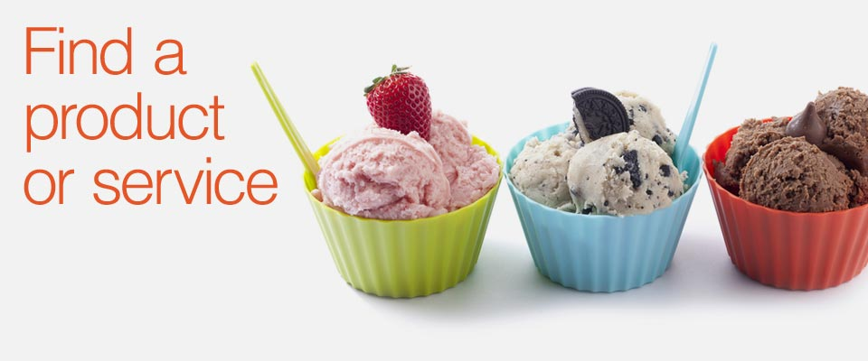 Ice Cream Alliance Products & Services