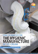 Code of Practice for the Hygienic Manufacture of Ice Cream